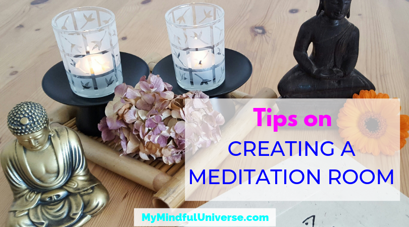 Once you decide to start meditating, you will need to start creating a meditation room or meditation space. Get some tips on creating it here. Click to read #meditation #meditationtips #mindfulness #MyMindfulUniverse #meditate